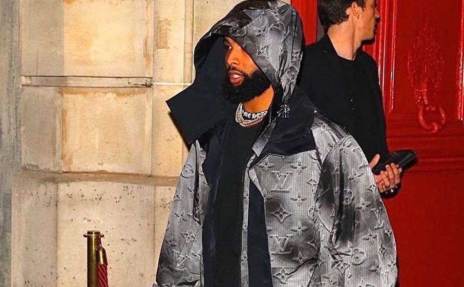 SPOTTED: Odell Beckham Jr Goes Full Louis Vuitton at PFW
