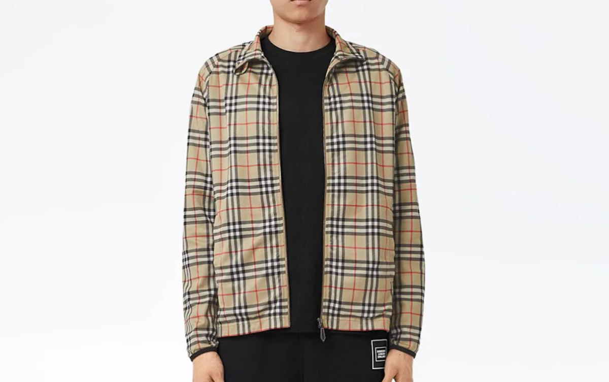 PAUSE or Skip: Burberry Check Print Sports Jacket