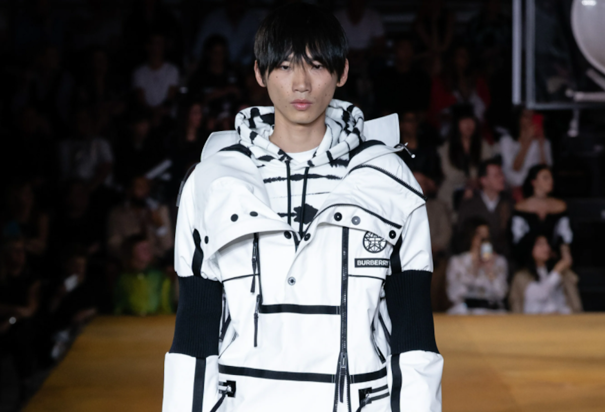 PAUSE or Skip: Burberry Globe Graphic Track Jacket