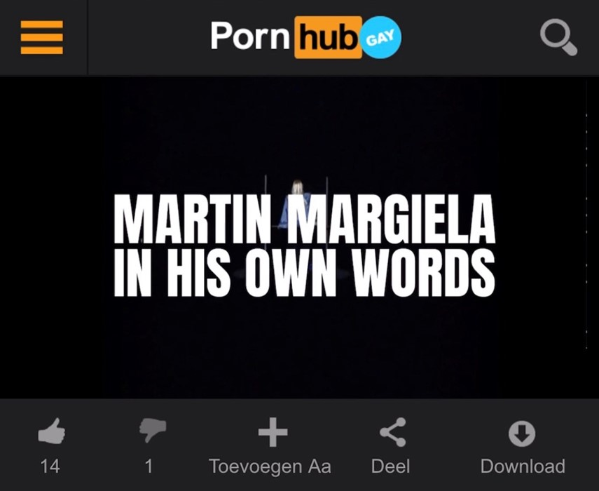 Maison Margiela Documentary Leaks on Pornhub ahead of Release
