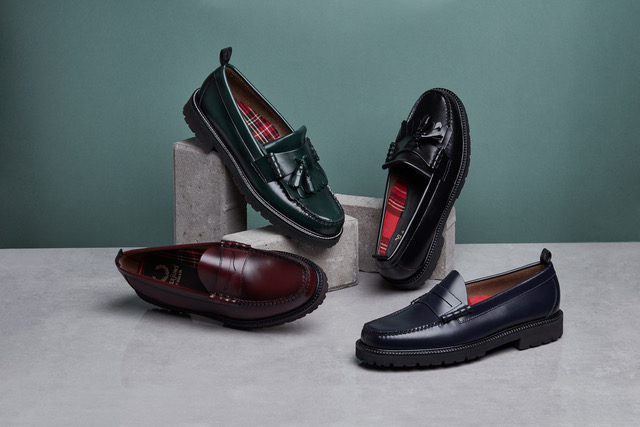 Fred Perry taps Iconic Shoemakers  G.H. Bass & Co. for New Loafers
