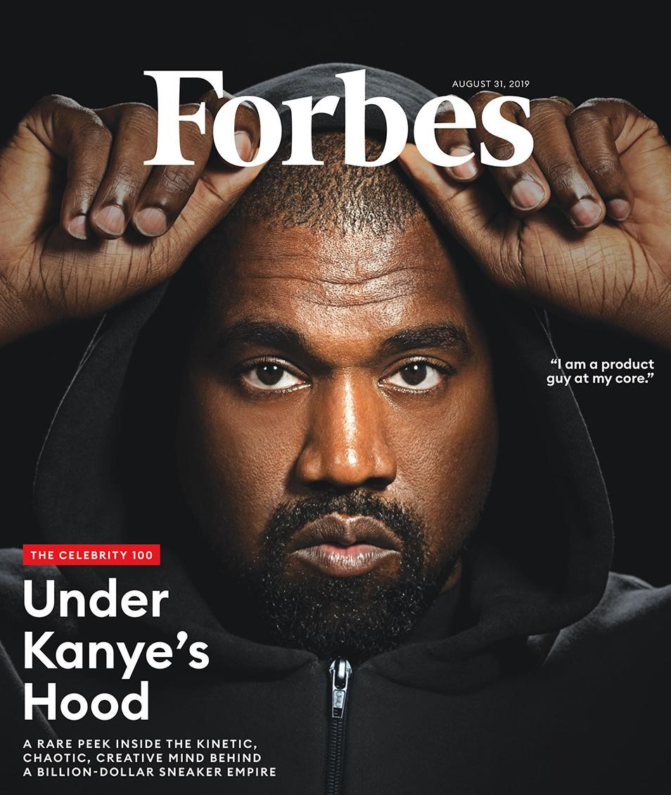 Forbes Declare Kanye West is a Billionaire