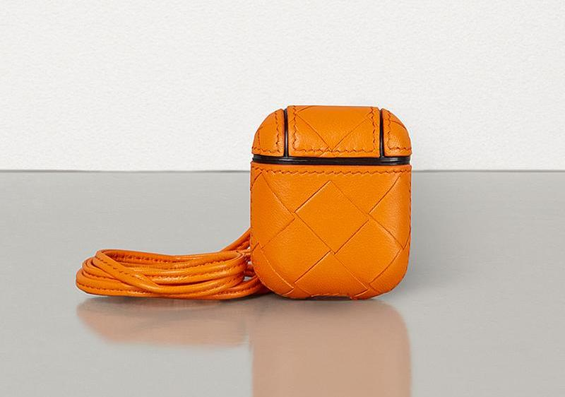 PAUSE or Skip: Bottega Veneta Intrecciato Leather AirPod Cases