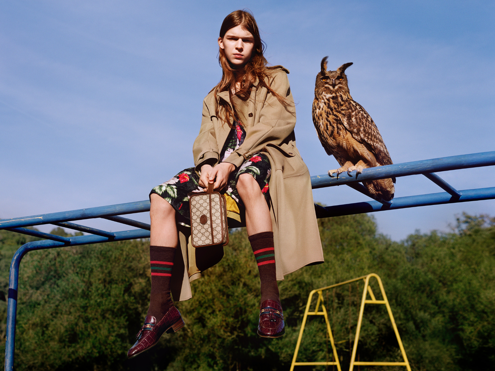 Gucci Connects with Nature for its Pre-Fall 2020 Campaign