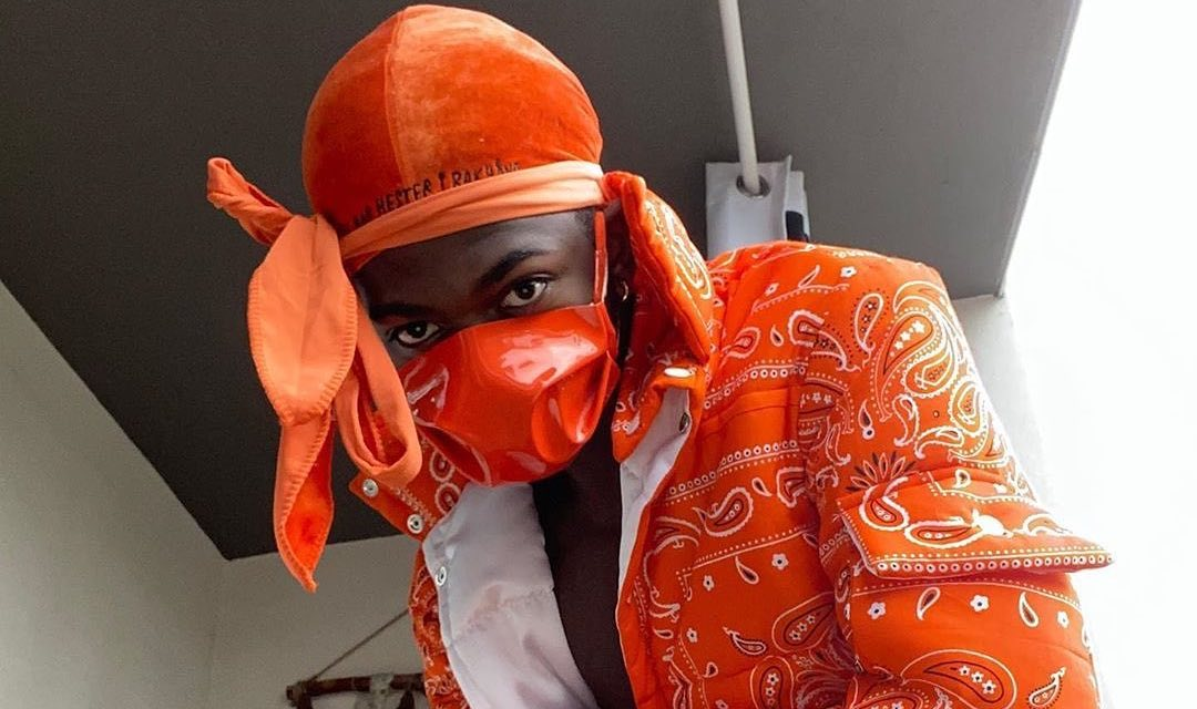 SPOTTED: Lil Nas X Dons All-Orange Look As He Celebrates Birthday