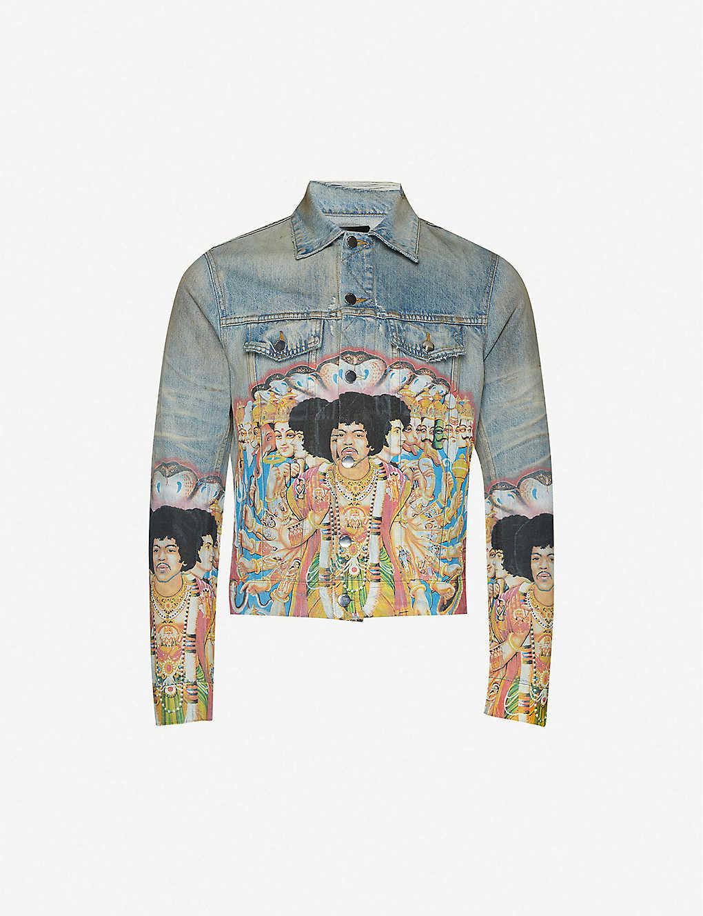 PAUSE or Skip: AMIRI Jimi Hendrix Denim Jacket