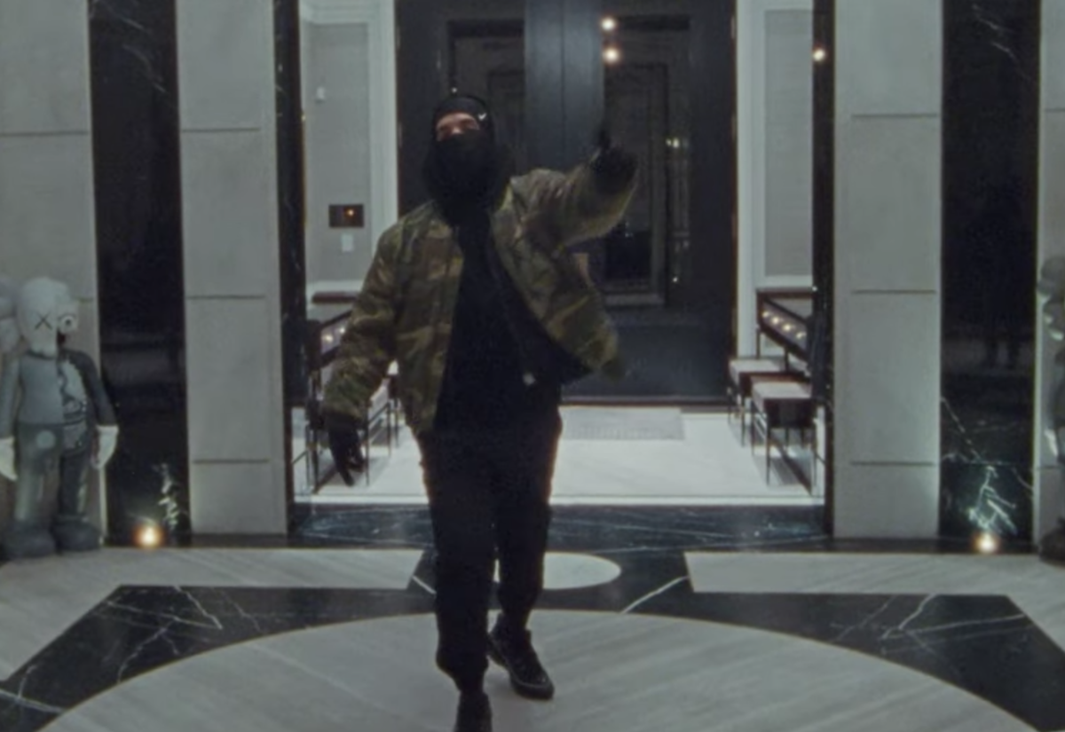 SPOTTED: Drake Films 'Toosie Slide' Video in Raf Simons, Alyx & Nike