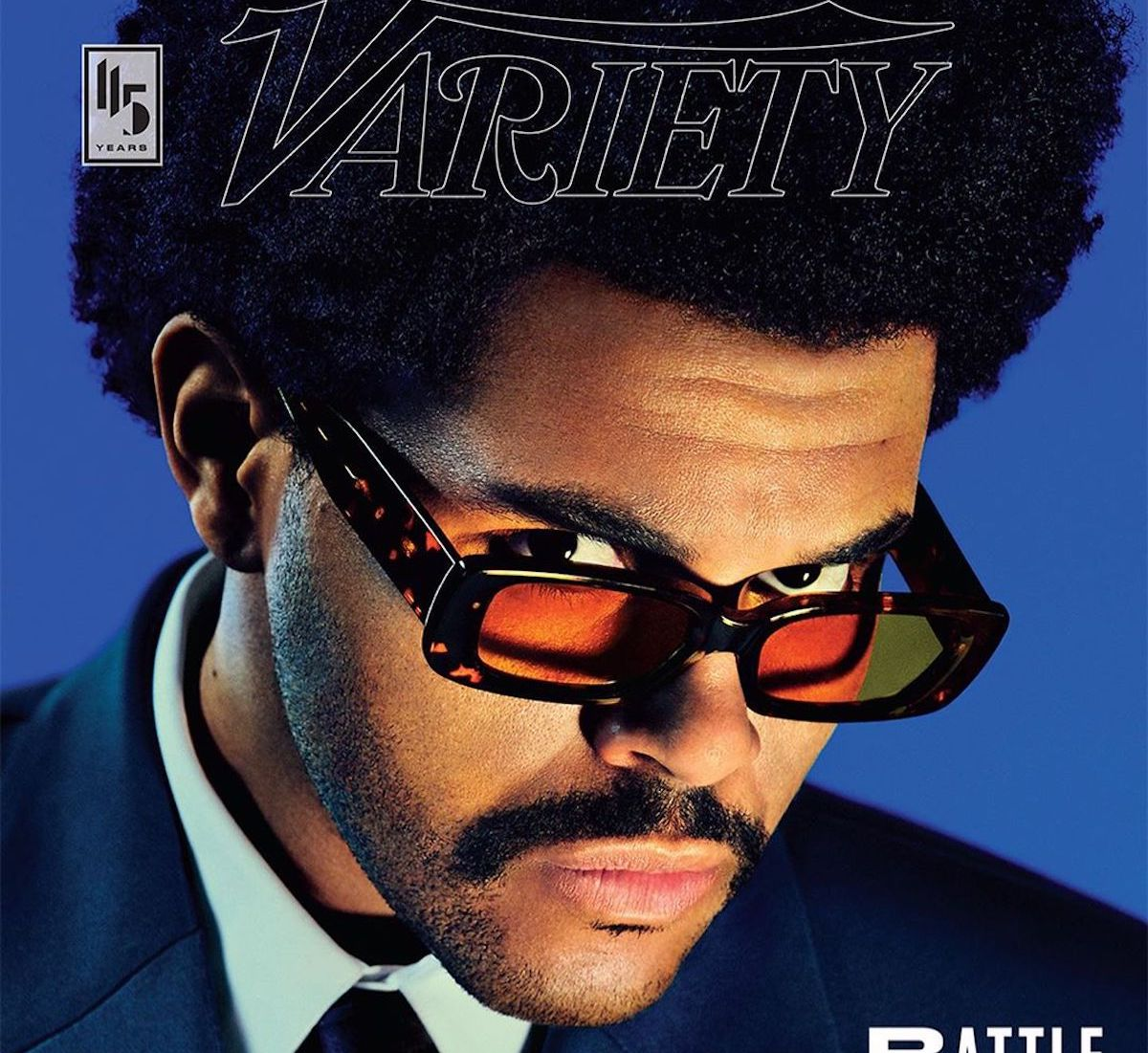 SPOTTED: The Weeknd Covers Variety Magazine in Balenciaga