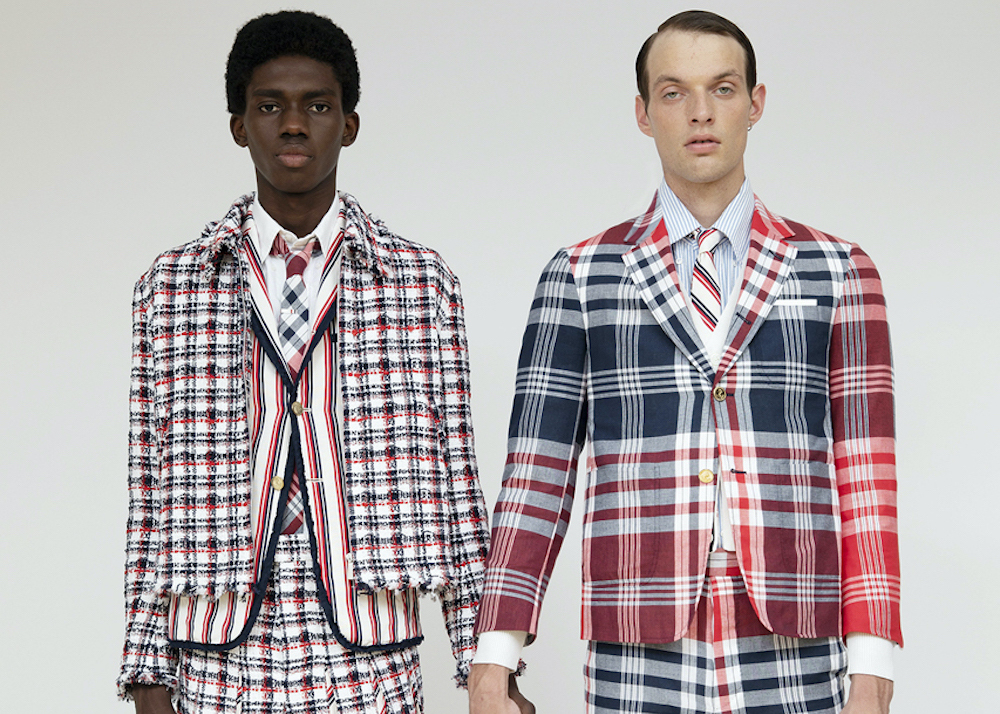 Thom Browne Unveil Spring/Summer 2020 Seersucker Capsule