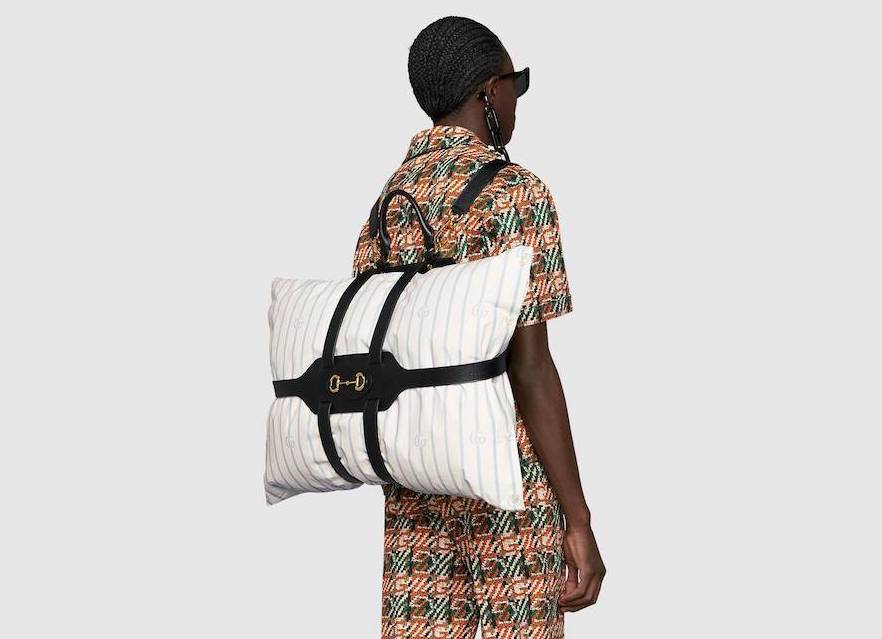 PAUSE or Skip: Gucci 1955 Horsebit Pillow Backpack Holder