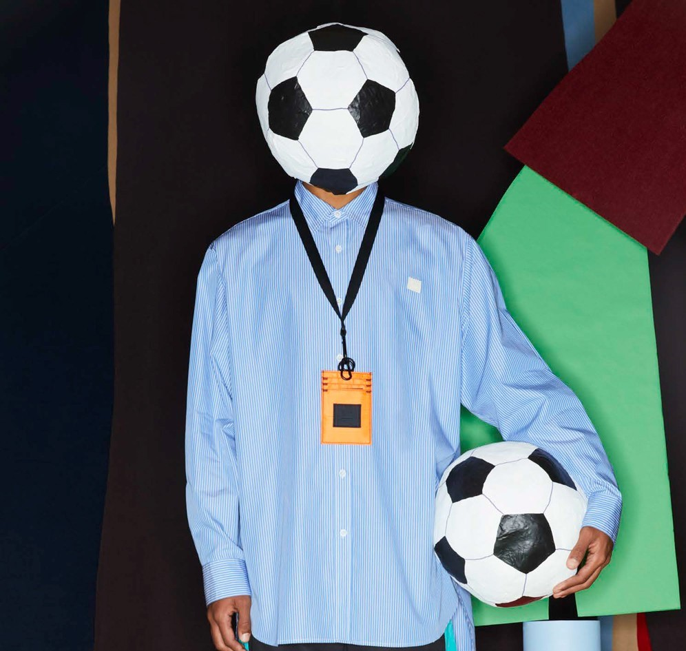 Acne Studios FW20 Face Collection goes Football Mad