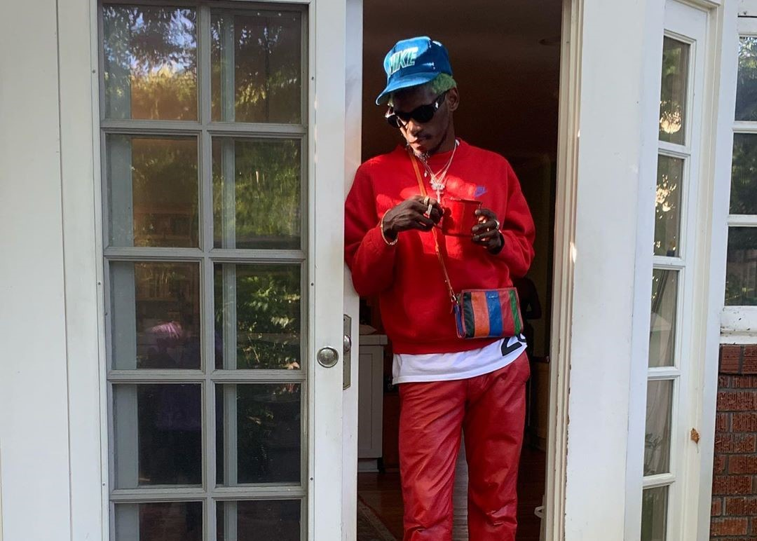 SPOTTED: A$AP Nast dons All-Red Look