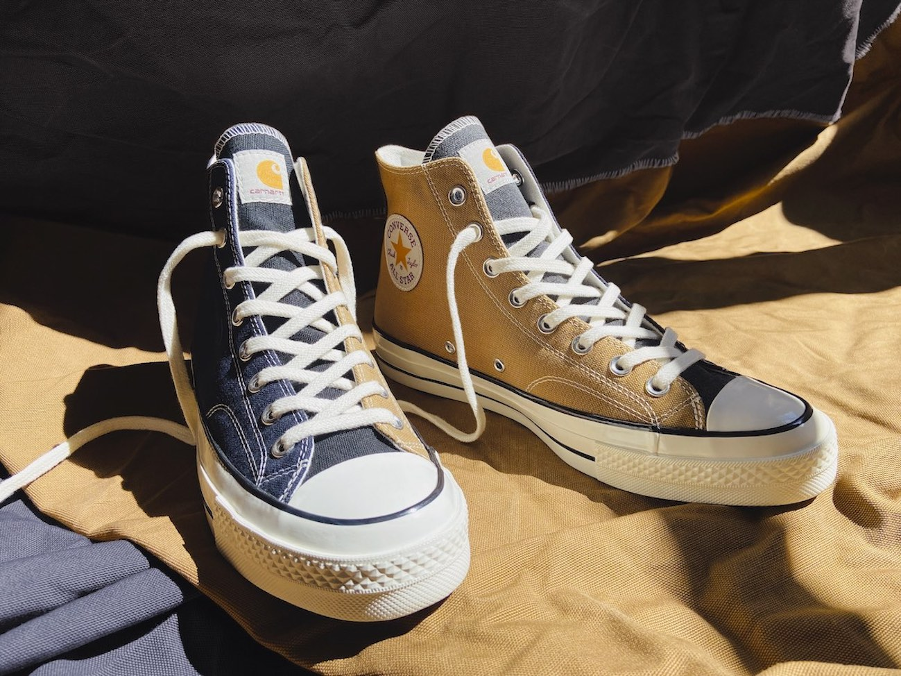 Converse & Carhartt Launch Upcycled  'WIP Renew Chuck 70' Silhouette
