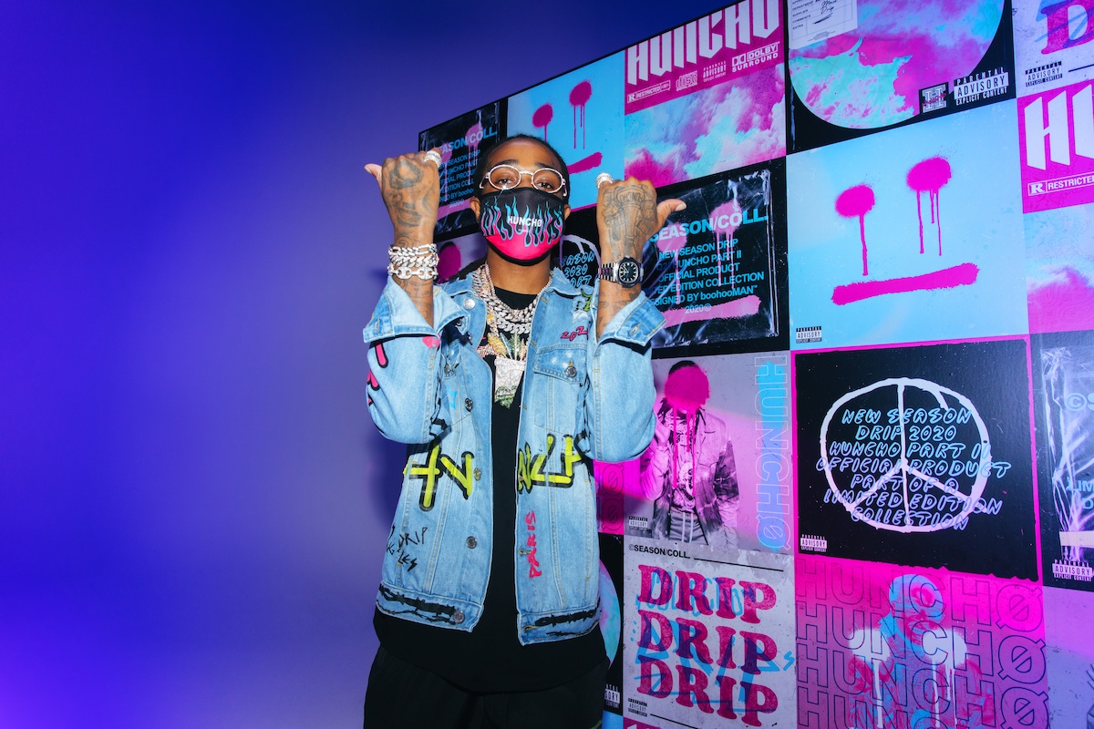 boohooMAN Unveil Second Drop & App Store Game with Quavo