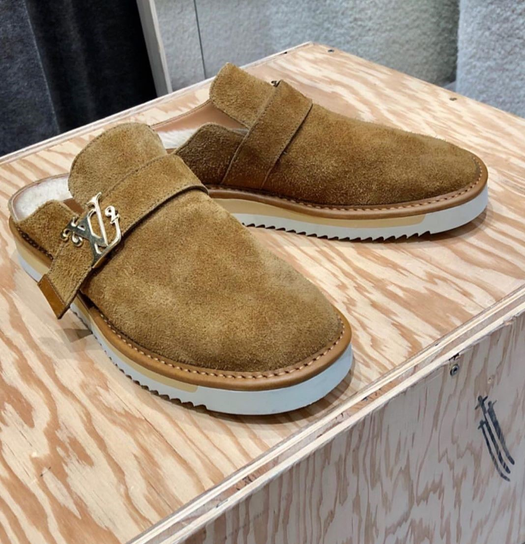 Virgil Abloh teases Nigo and Louis Vuitton Shoes