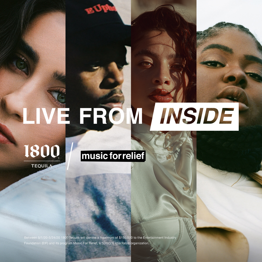 1800 Tequila launches Livestream Series With Artists and Mixologists