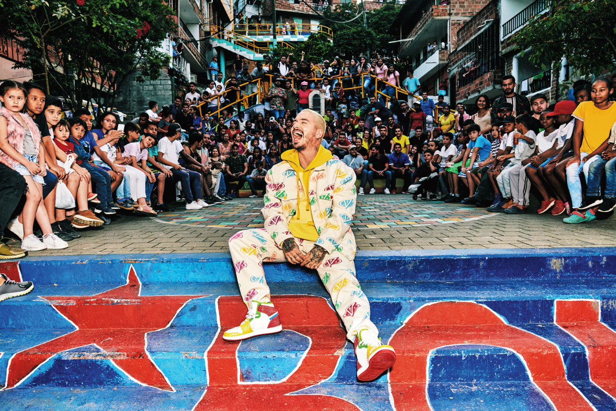 J Balvin brings his Eye-Catching Style to GUESS Collaboration