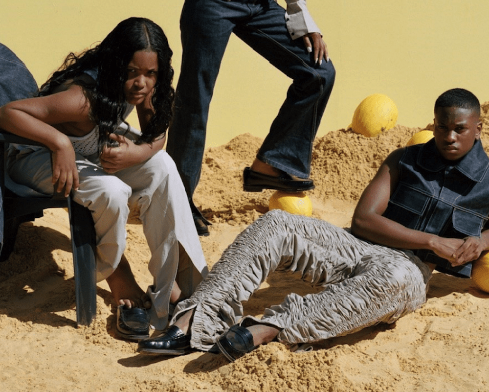 Bianca Saunders Taps Family Members for SS20′ Collection Lookbook