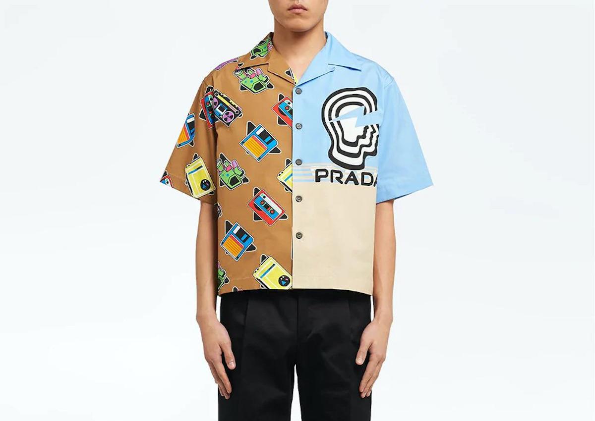PAUSE or Skip: Prada Double Match Bowling Shirt