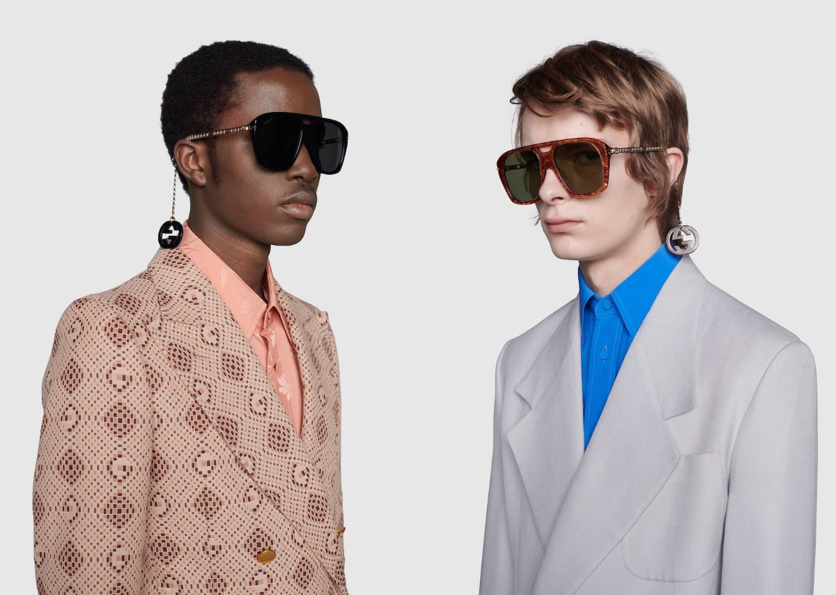 PAUSE or Skip: Gucci Square Sunglasses with Charms