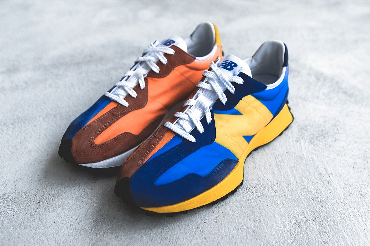 New Balance Updates Sneakers with Split Colourway