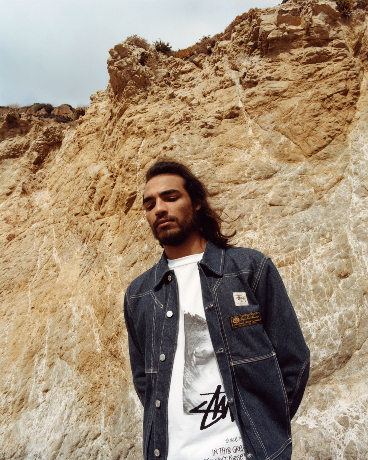 Matthew M Williams and Stussy Experiment with Denim