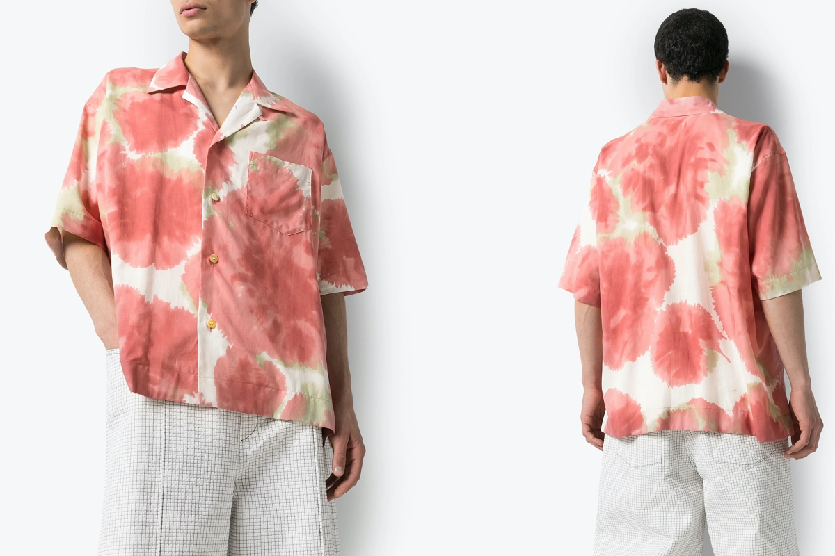 PAUSE or Skip: Issey Miyake Men Oversized Tie-Dye Shirt