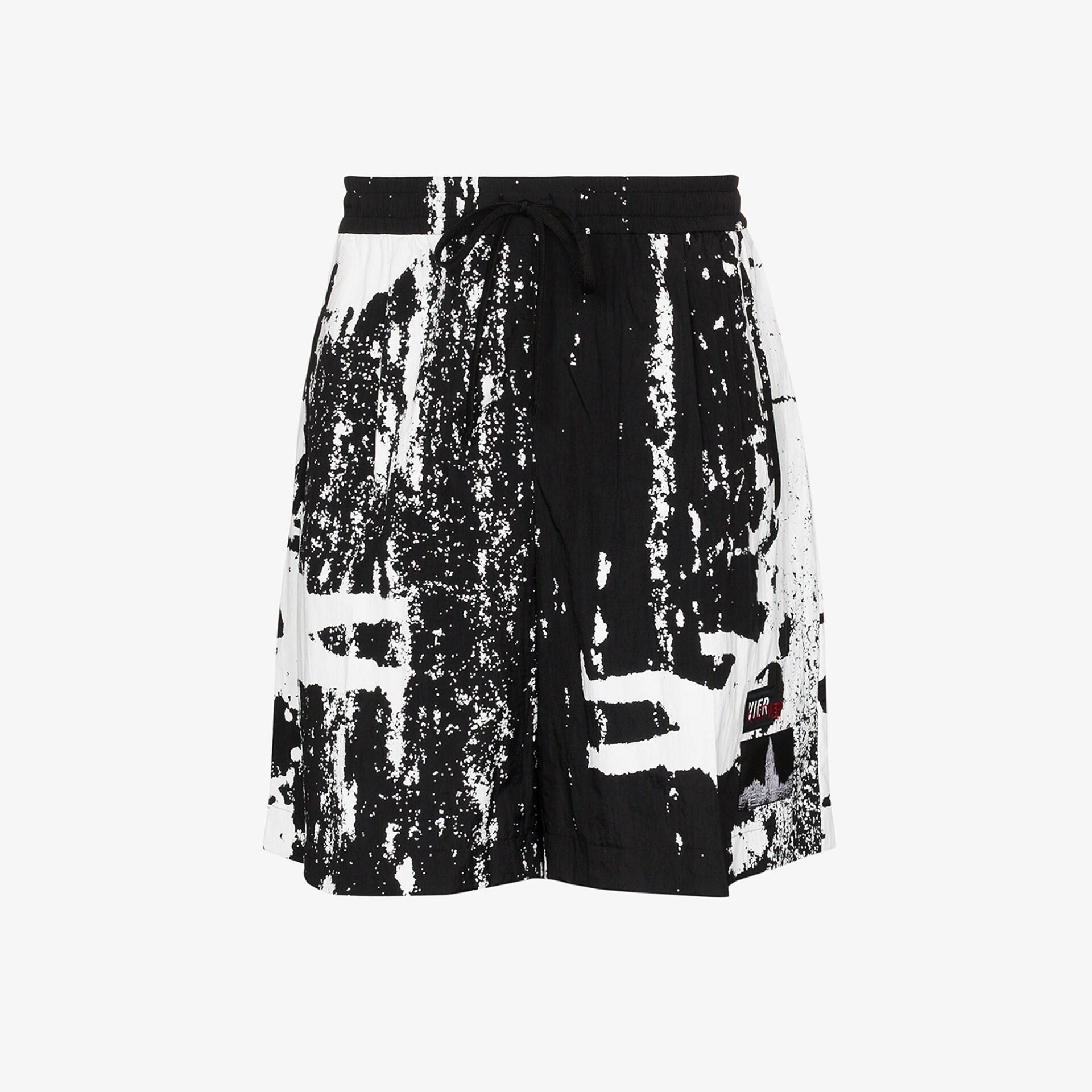 PAUSE or Skip: Vier Antwerp X Taro Horiuchi Printed Shorts
