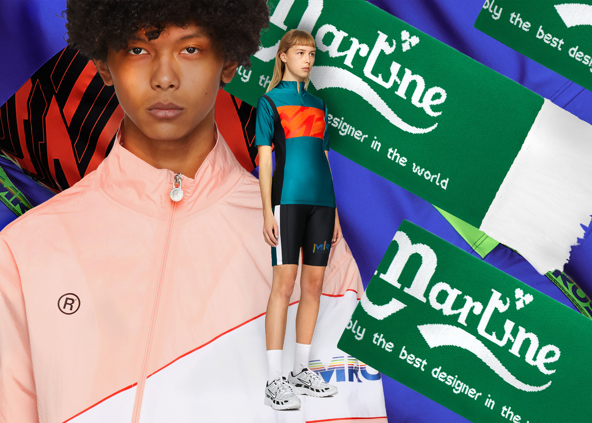 Martine Rose Deliveres Exclusive Capsule Collection for SSENSE