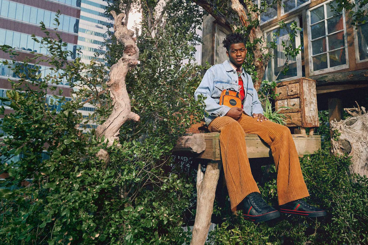 Lil Nas X Stars in Gucci's 'Off The Grid' Collection Campaign