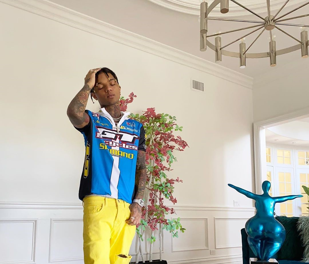 SPOTTED: Swae Lee Celebrates Birthday with Vibrant look