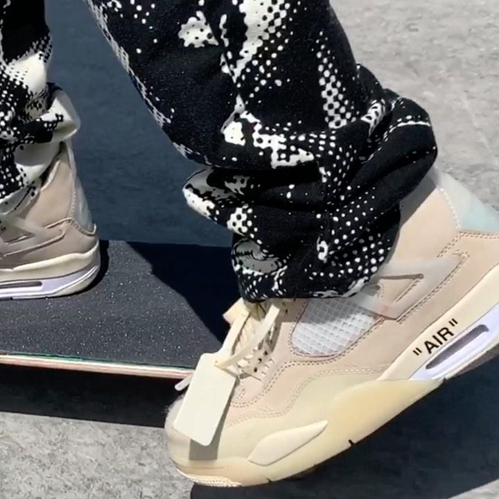 Burberry.erry Skates Unreleased Nike X Off White Jordan 4 in Latest Edit