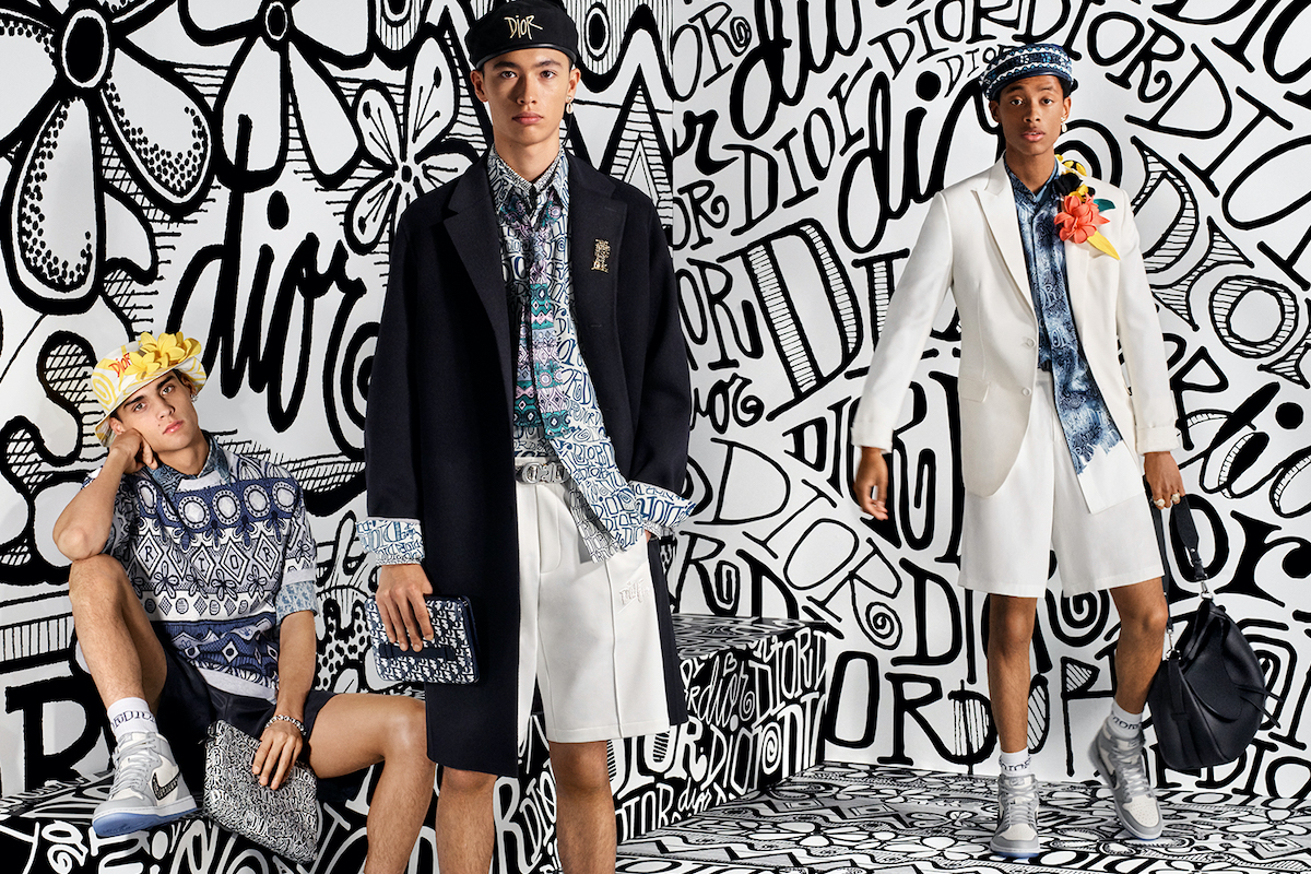 Dior Men Deliver Expectedly Graphic-Heavy Autumn 2020 Campaign