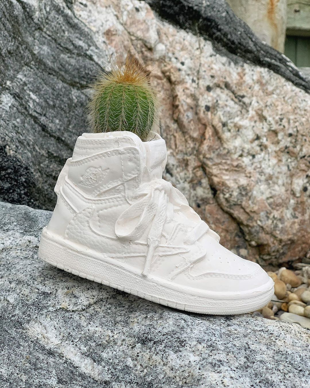 Bodega Rose is Raffling a Jordan 1 Planter for the COVID Bail Out Fund