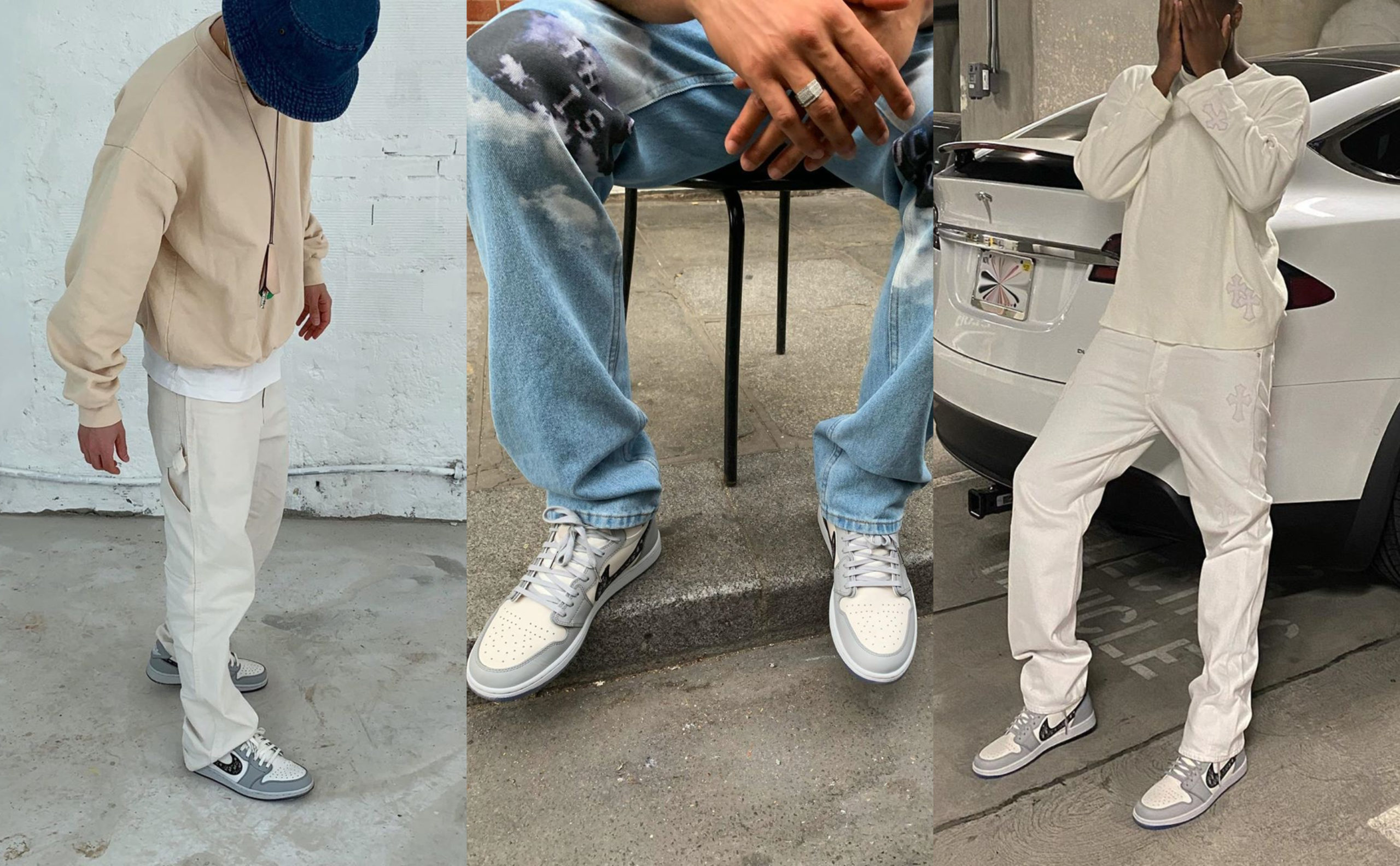 SPOTTED: The Early Adopters of the Dior X Nike AJ1