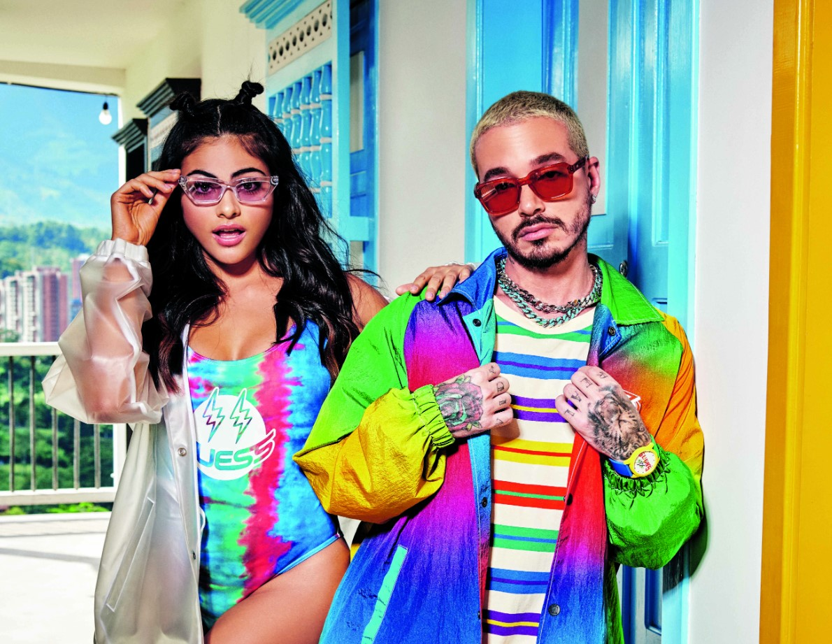 GUESS and J Balvin Continue Collaboration with Sunglasses Release