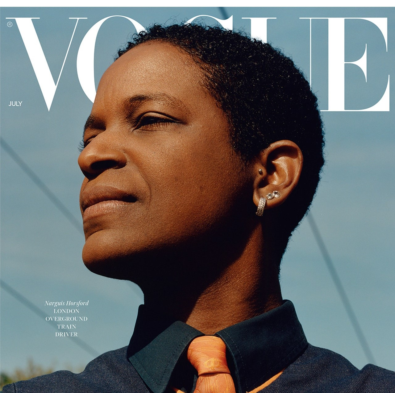 British Vogue Pays Homage to Key Workers with Latest Issue