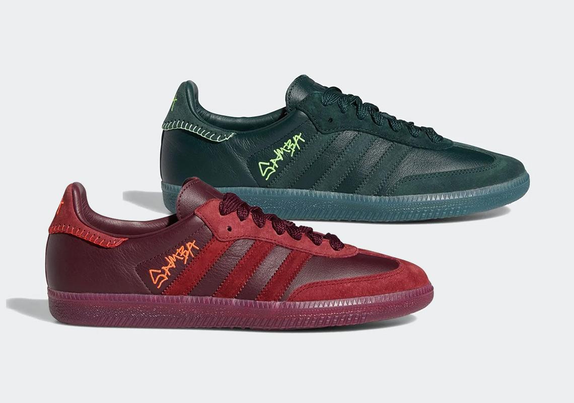 Jonah Hill creates Tonal Adidas Samba Sneakers