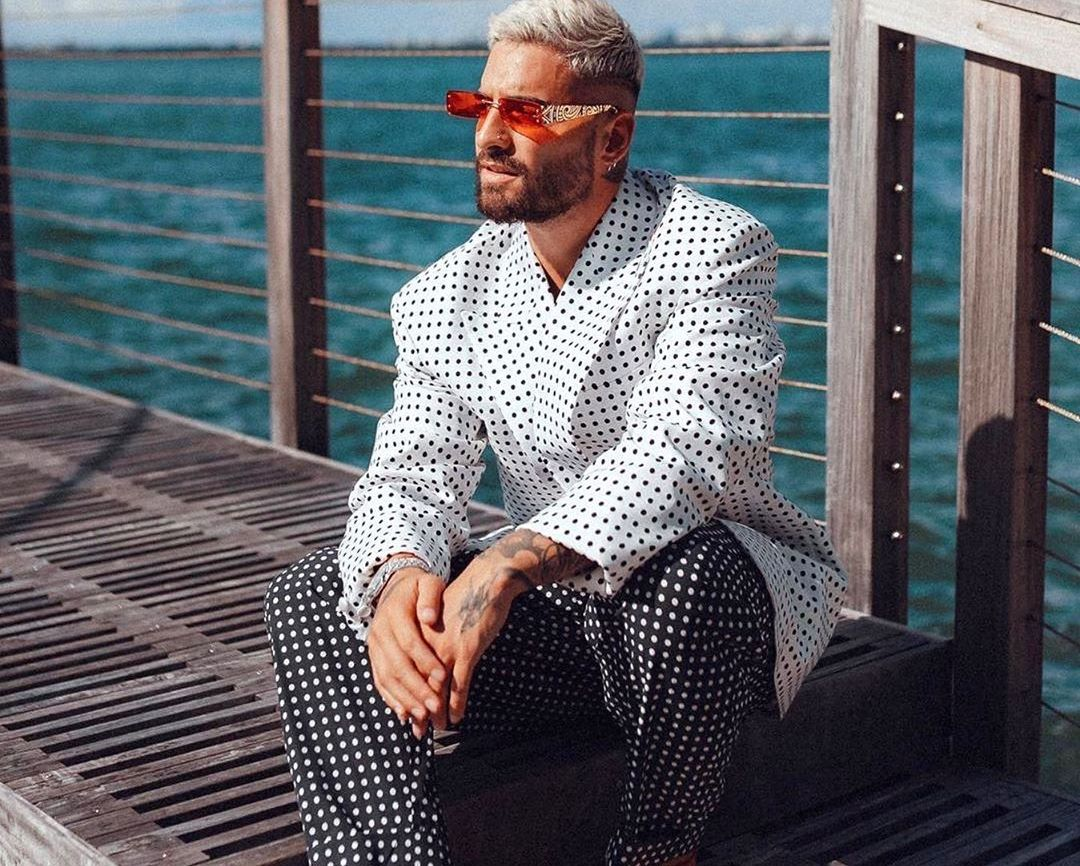 SPOTTED: Maluma in Balmain for Vogue Hommes