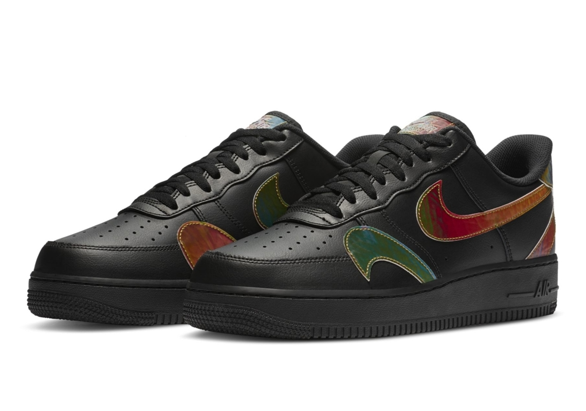 Nike Experiments with its Swoosh for Latest Air Force 1