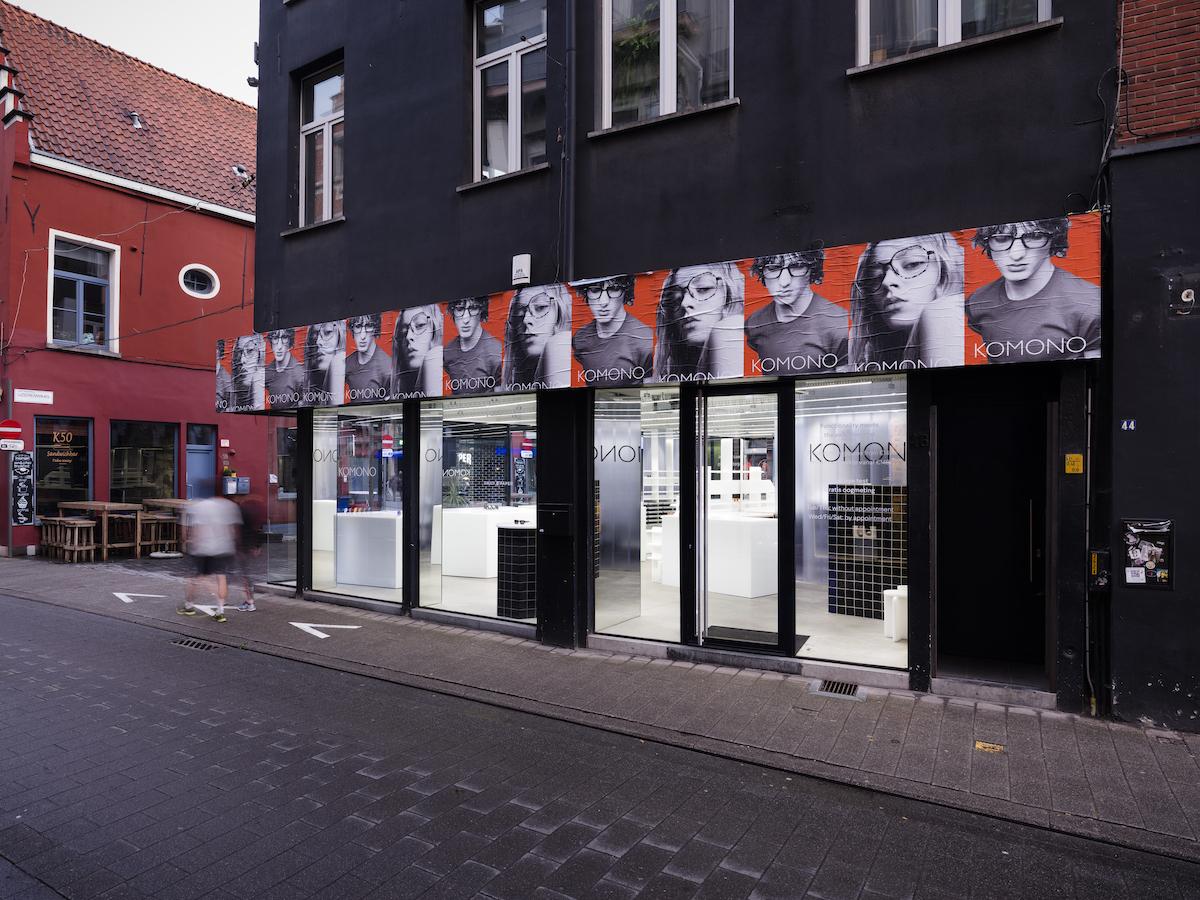 KOMONO Open New Flagship Store in Antwerp, Belgium