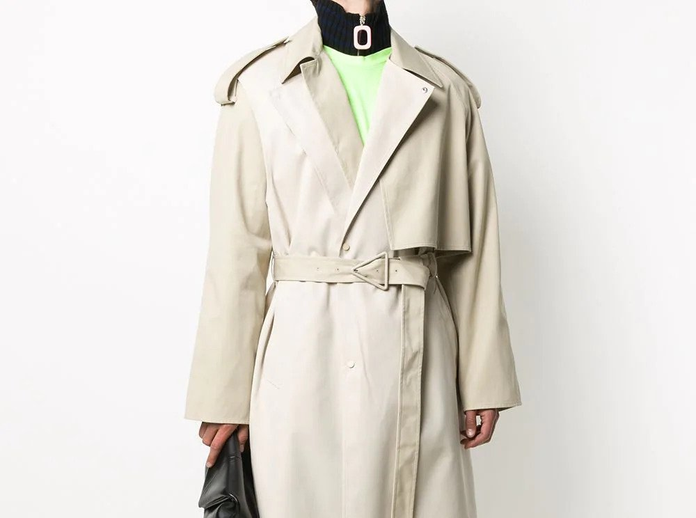 PAUSE or Skip: Bottega Veneta Two Tone Trench Coat