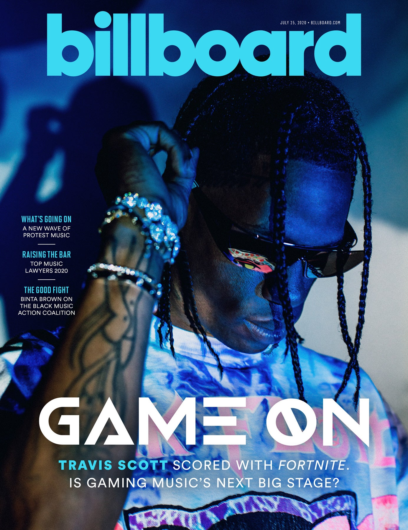 SPOTTED: Travis Scott on the Latest Billboard Cover