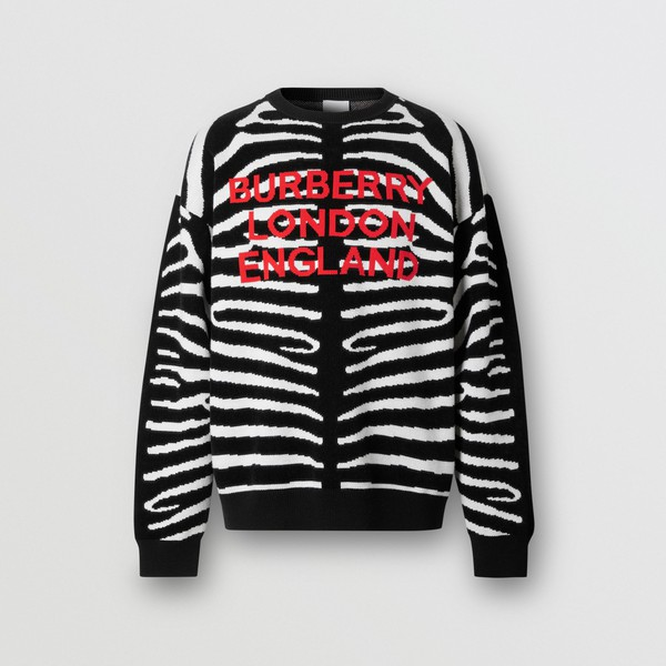 PAUSE or Skip: Burberry Logo Sweater
