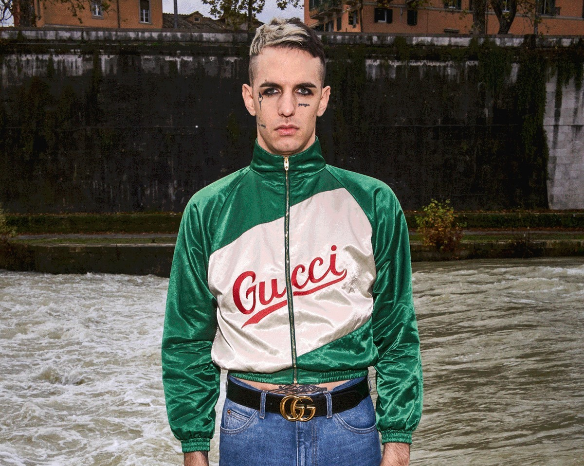 PAUSE or Skip: Gucci Script Jacket