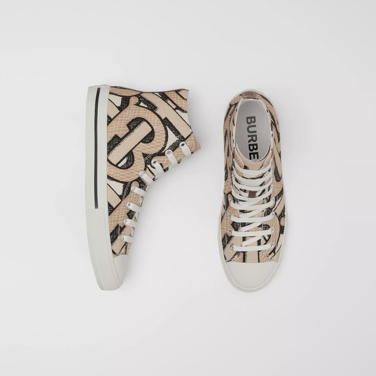 PAUSE or Skip: Burberry Monogram High-Top Trainers