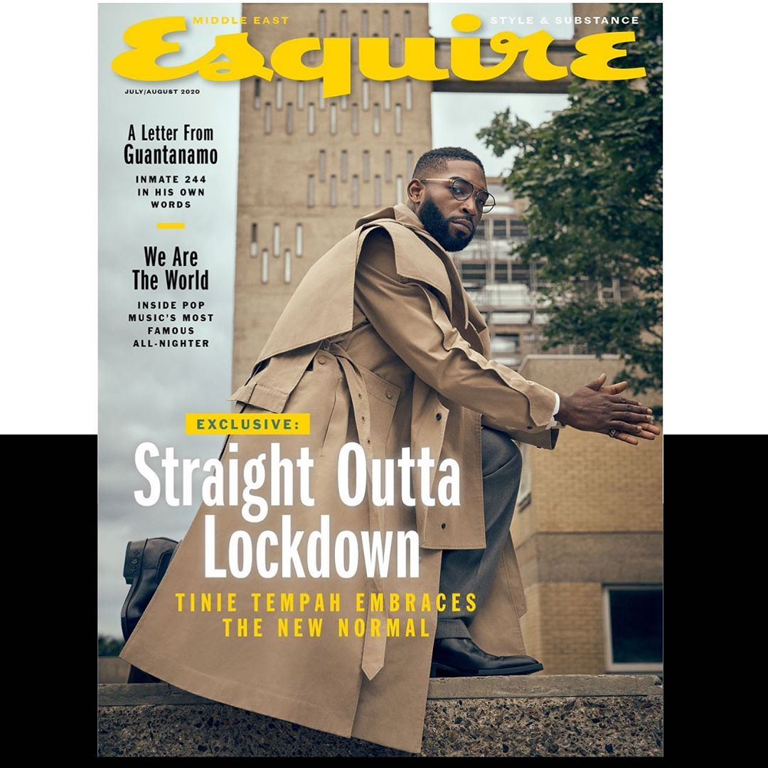 SPOTTED: Tinie Tempah Covers Esquire Middle East's Latest Issue