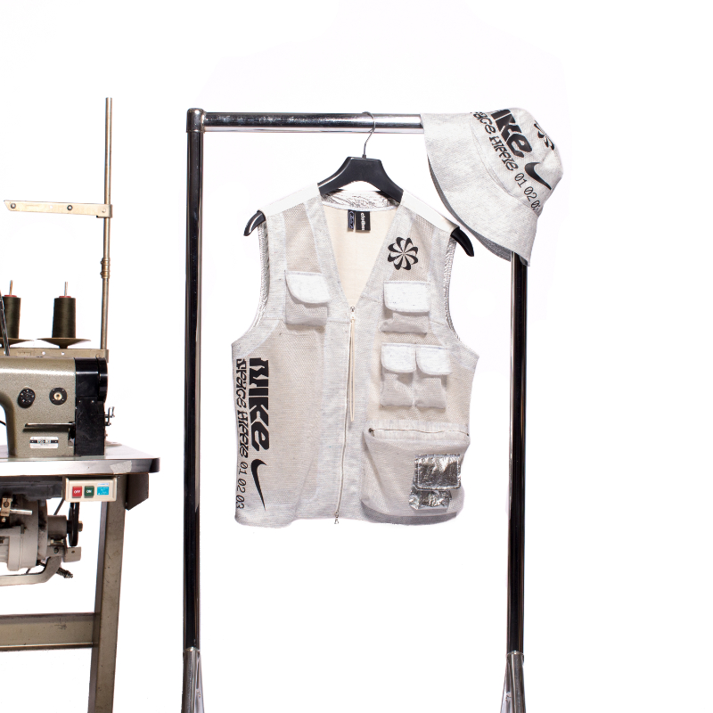 Clothsurgeon Create's 3-Piece-Collection From a Nike Bag