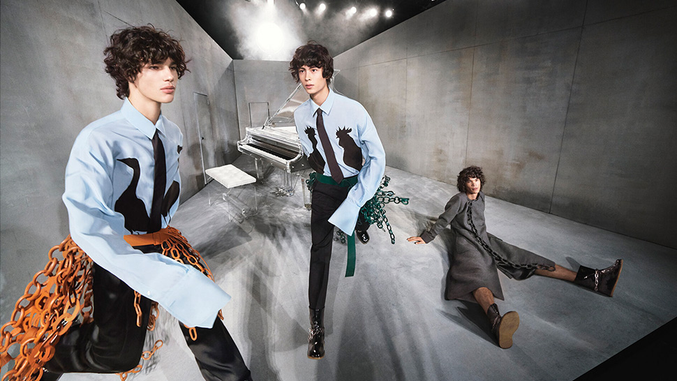 "Loewe Release ""Goose and Roosters"" Selection"