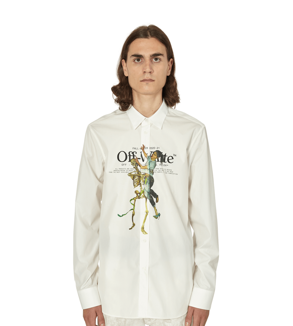 PAUSE or Skip: Off-White Skeleton Shirt